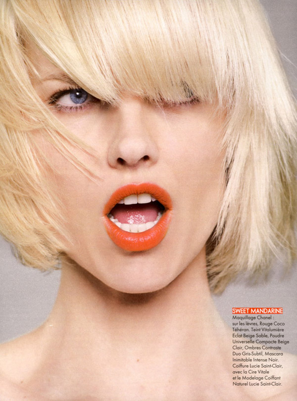eva herzigova Eva Herzigova by Jan Welters for <em>Elle France</em> June 2010