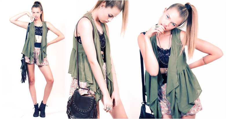 LF Stores Summer Evolving 2010 Lookbook featuring Hailey Clauson