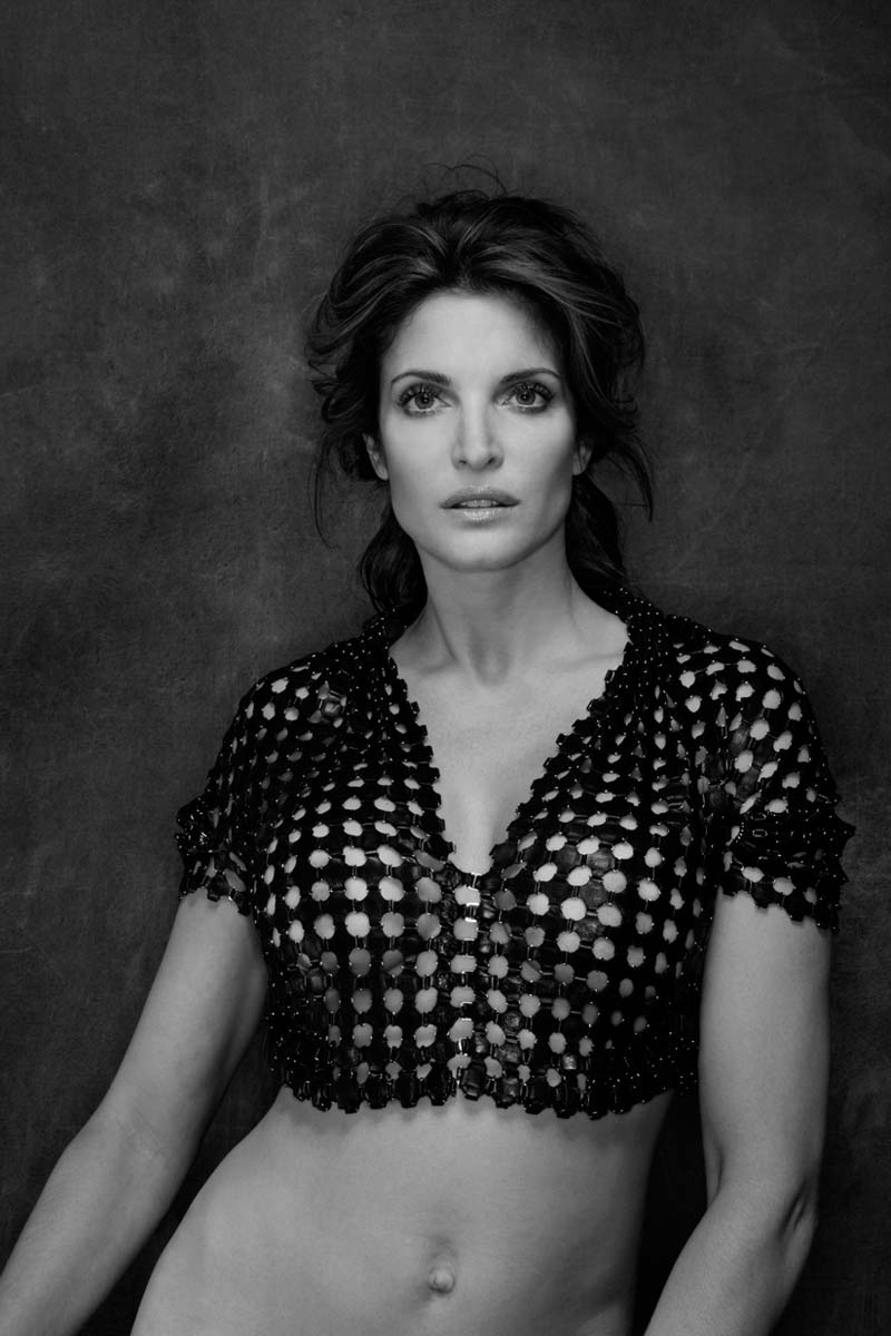 Stephanie Seymour by Gilles Bensimon for Flaunt #109