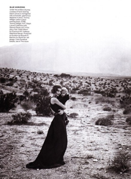 Arizona Muse by Peter Lindbergh for <em>Vogue US</em> February 2011