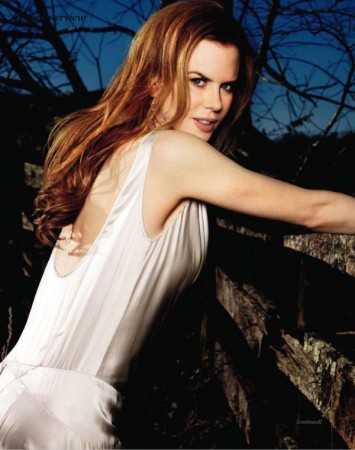 Nicole Kidman for <em>Marie Claire UK</em> March 2011 by Matthias Vriens-McGrath
