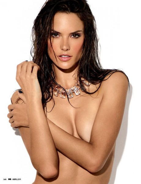 Alessandra Ambrosio for <em>GQ Brazil</em> April 2011 by Gavin Bond