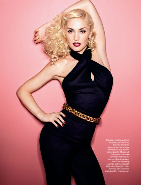 Gwen Stefani by Matthias Vriens-McGrath for <em>Elle UK</em> April 2011
