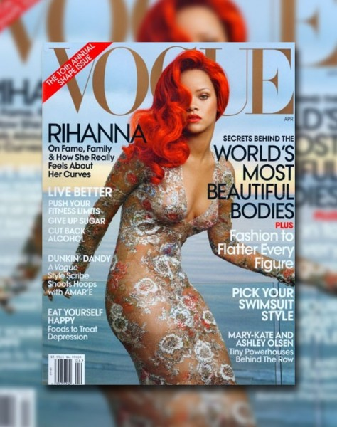 <em>Vogue US</em> April 2011 Cover | Rihanna by Annie Leibovitz