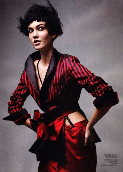 Karlie Kloss by Patrick Demarchelier for <em>Vogue China</em> May 2011
