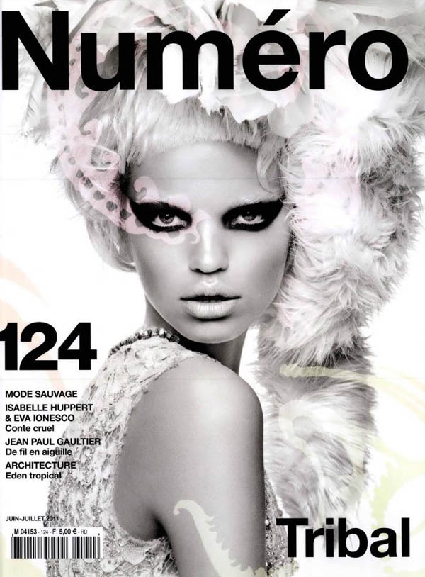 <em>Numéro</em> #124 June/July 2011 Cover | Daphne Groeneveld by Greg Kadel