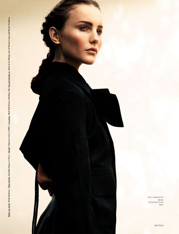 Vanessa Cruz by Nyra Lang for <em>Deutsch</em> #45