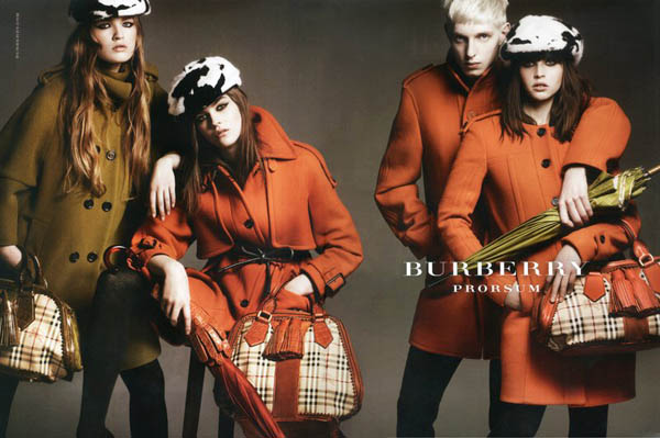 Burberry Fall 2011 Campaign by Mario Testino (Preview)