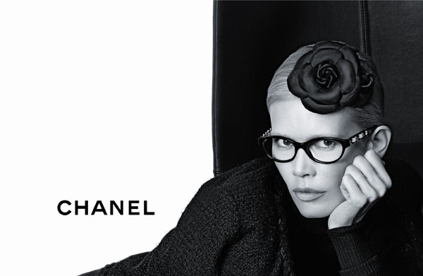 Chanel Eyewear Fall 2011 Campaign | Claudia Schiffer by Karl Lagerfeld