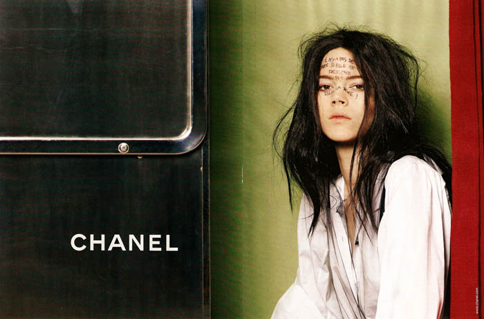 Chanel Fall 2011 Campaign Preview | Freja Beha Erichsen by Karl Lagerfeld
