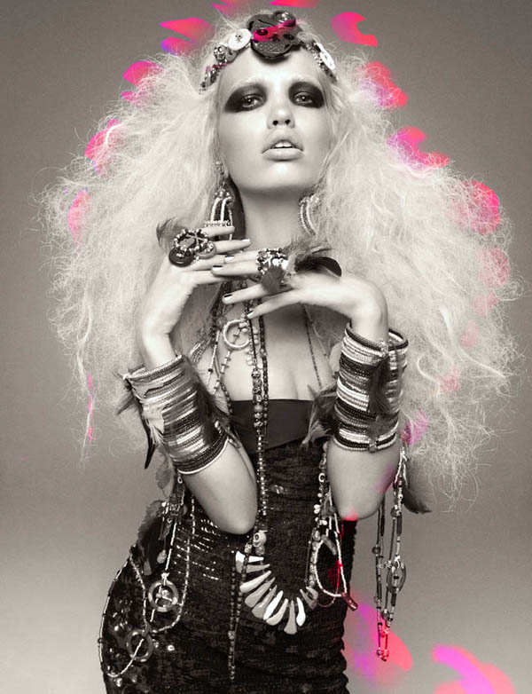 Daphne Groeneveld by Greg Kadel for <em>Numéro</em> #124