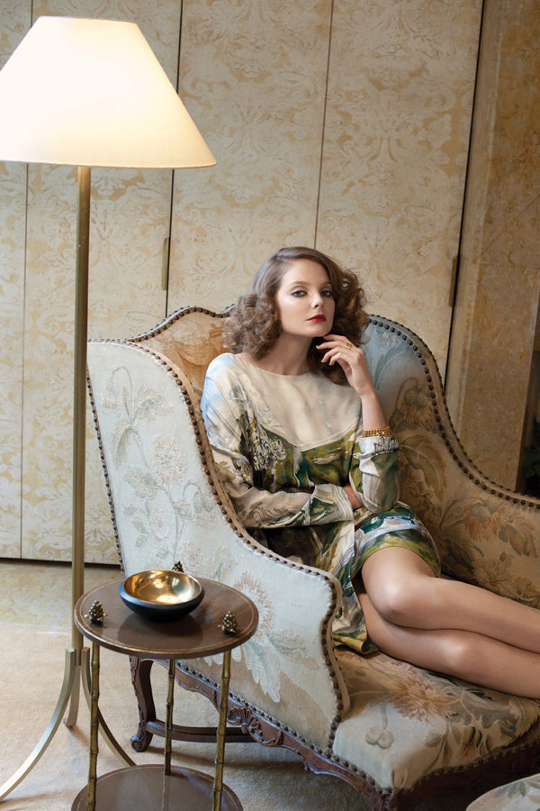 Eniko Mihalik by Max Farago for <em>Bergdorf Goodman</em> Pre-Fall 2011