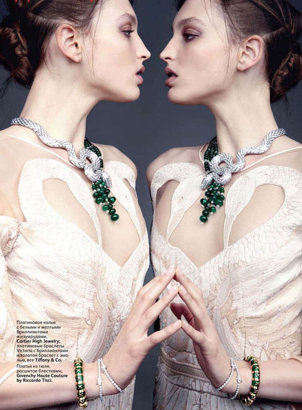 Georgina Stojiljkovic for <em>Vogue Russia</em> June 2011