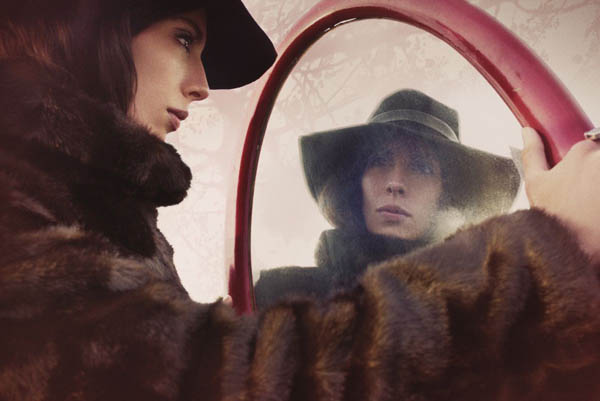 Jamie Bochert by Tom Munro for <em>Vogue Italia</em> June 2011