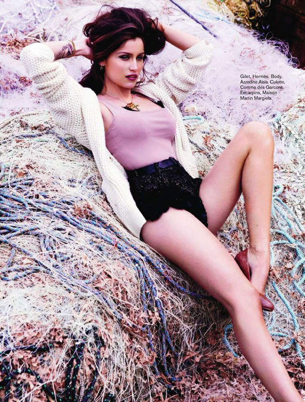 Laetitia Casta by Ellen von Unwerth for <i>Glamour France</i> July 2011