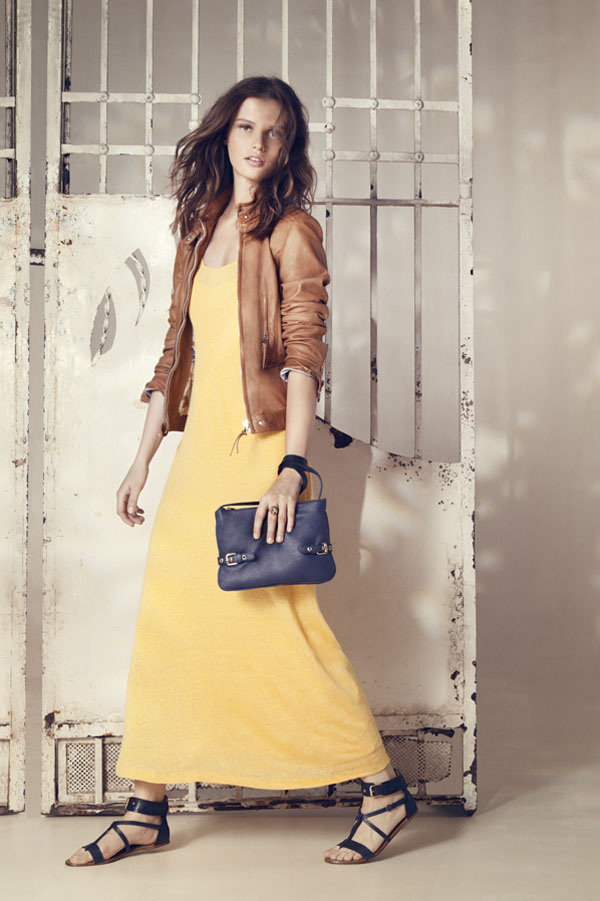 Massimo Dutti June 2011 Lookbook: Giedre Dukauskaite by Gemma Edo