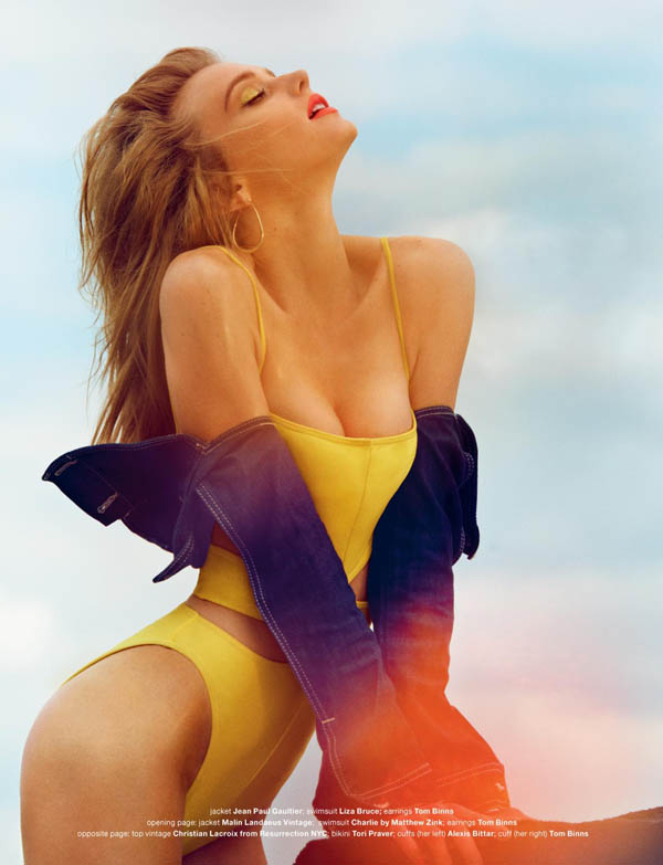 Sigrid Agren by Mariano Vivanco for <em>Muse</em> Summer 2011