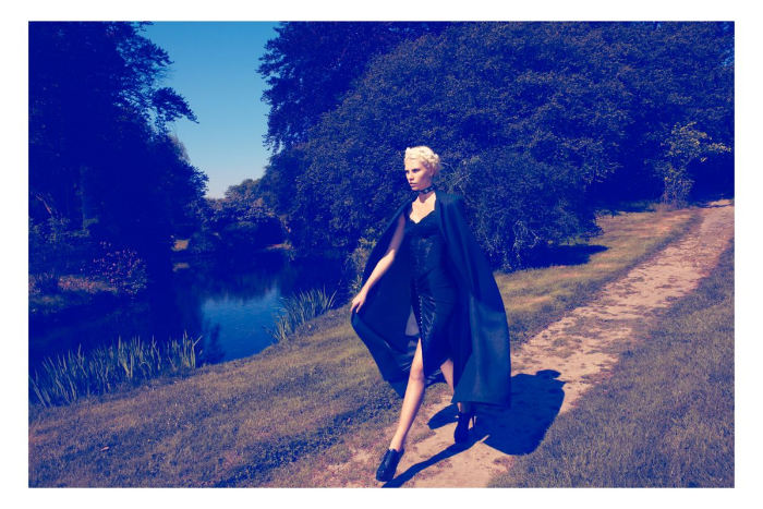 Aline Weber by Camilla Akrans for <em>Vogue Japan</em> August 2011