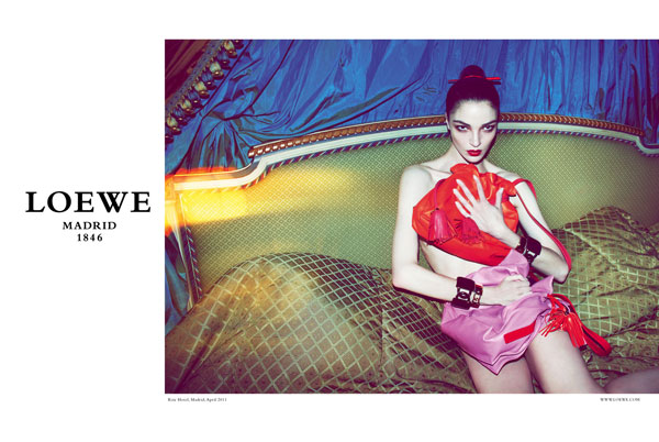 Loewe Fall 2011 Campaign Preview | Mariacarla Boscono by Mert & Marcus