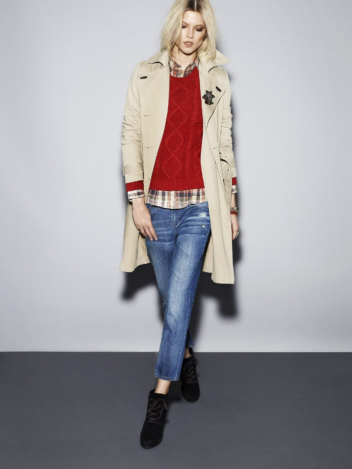 Kasia Struss & Emma Xie for Mango Pre-Fall 2011 Lookbook