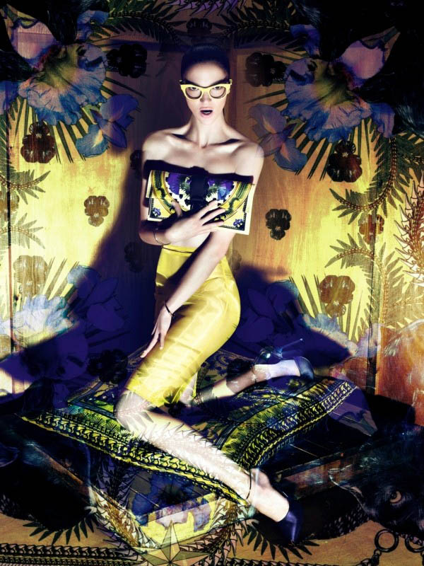Mariacarla Boscono for Givenchy Fall 2011 Campaign by Mert & Marcus