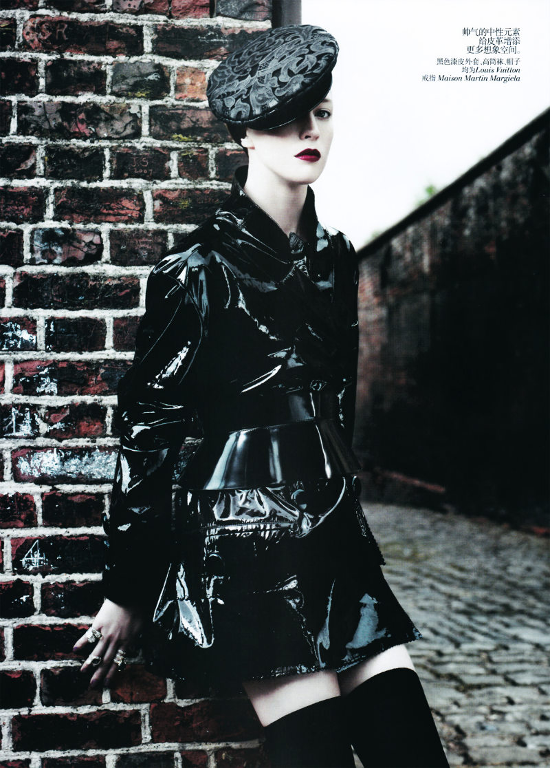 Raquel Zimmermann by Willy Vanderperre for <em>Vogue China</em> August 2011
