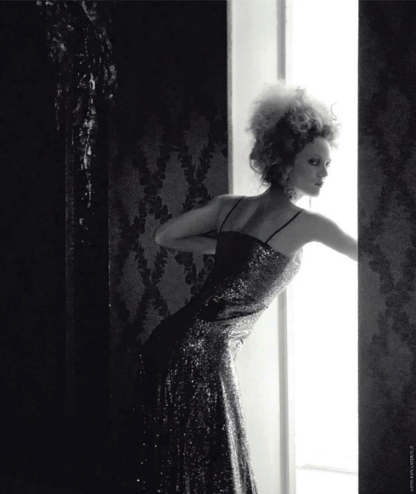 Vanessa Paradis in Chanel for <em>Tatler Russia</em> July 2011