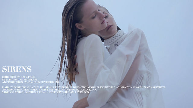 Film | Sirens by Kai Z. Feng for <em>Stockholm S/S/A/W</em>