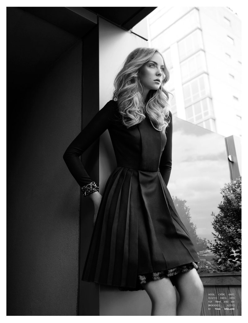 Heather Marks by Randall Slavin for <em>Flaunt</em>