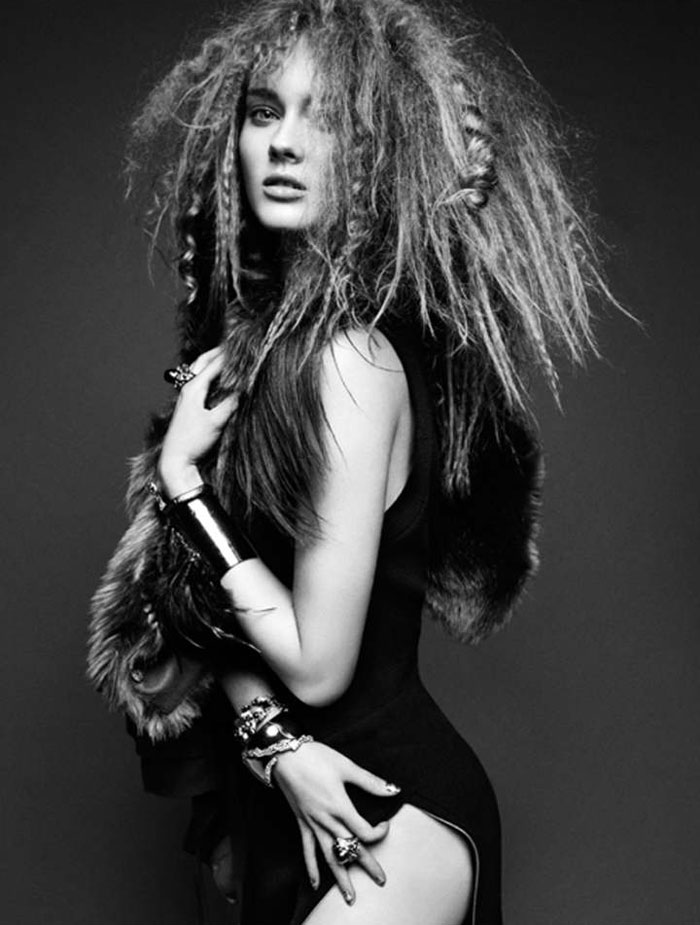 Jac Jagaciak by Greg Kadel for <em>Numéro</em> #126