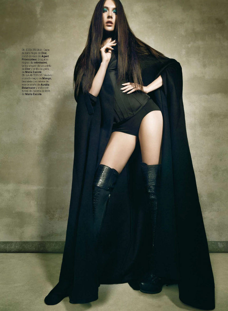 Jacquelyn Jablonski by Nico for <em>Harper&#8217;s Bazaar Spain</em> September 2011