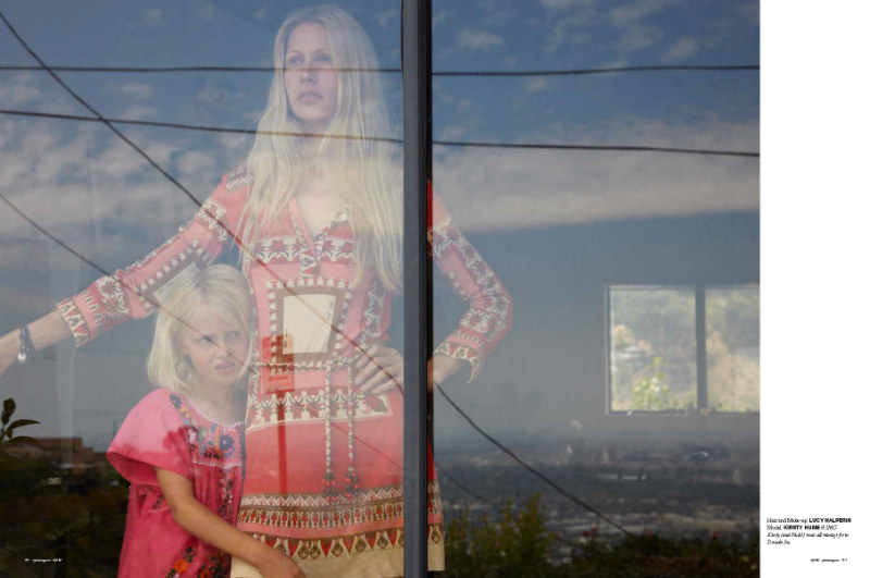 Kirsty Hume by Tierney Gearon for <em>Oyster</em> #94