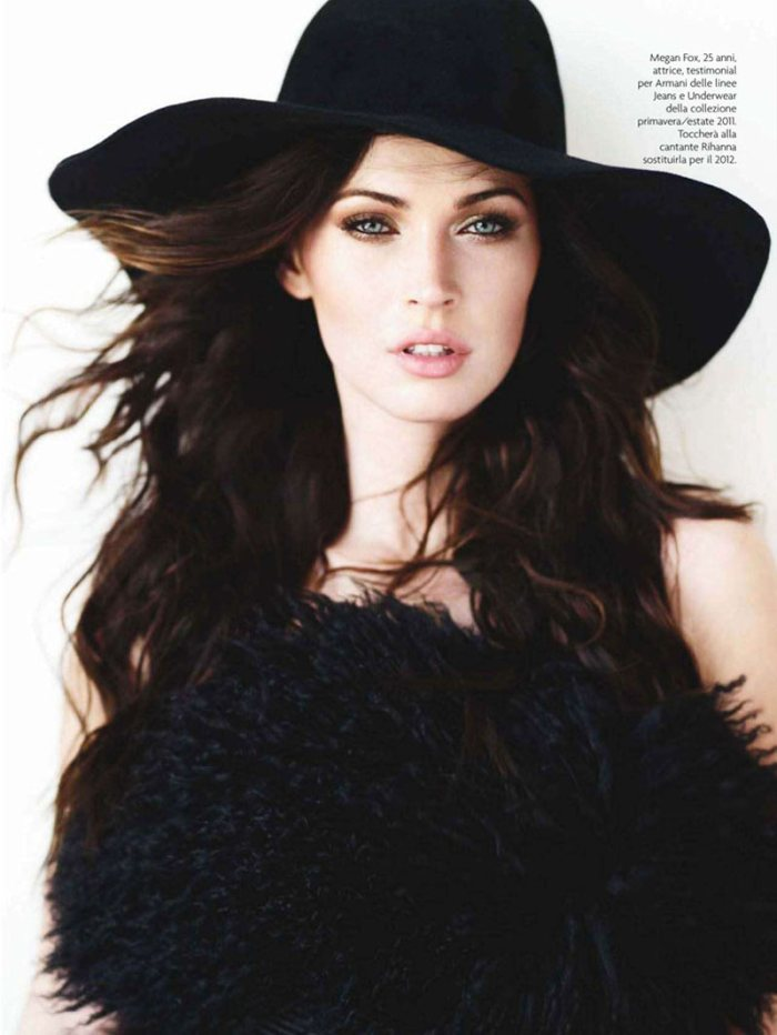 Megan Fox by Richard Phibbs for <em>Amica</em> September 2011