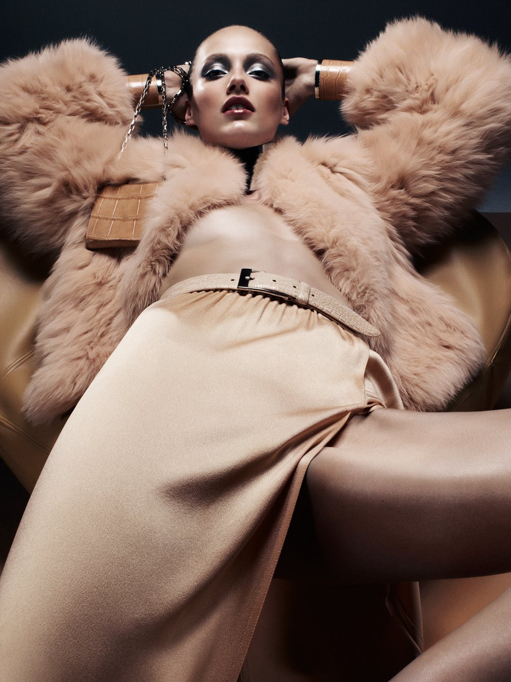 Karmen Pedaru in Michael Kors for <em>Interview</em> September 2011