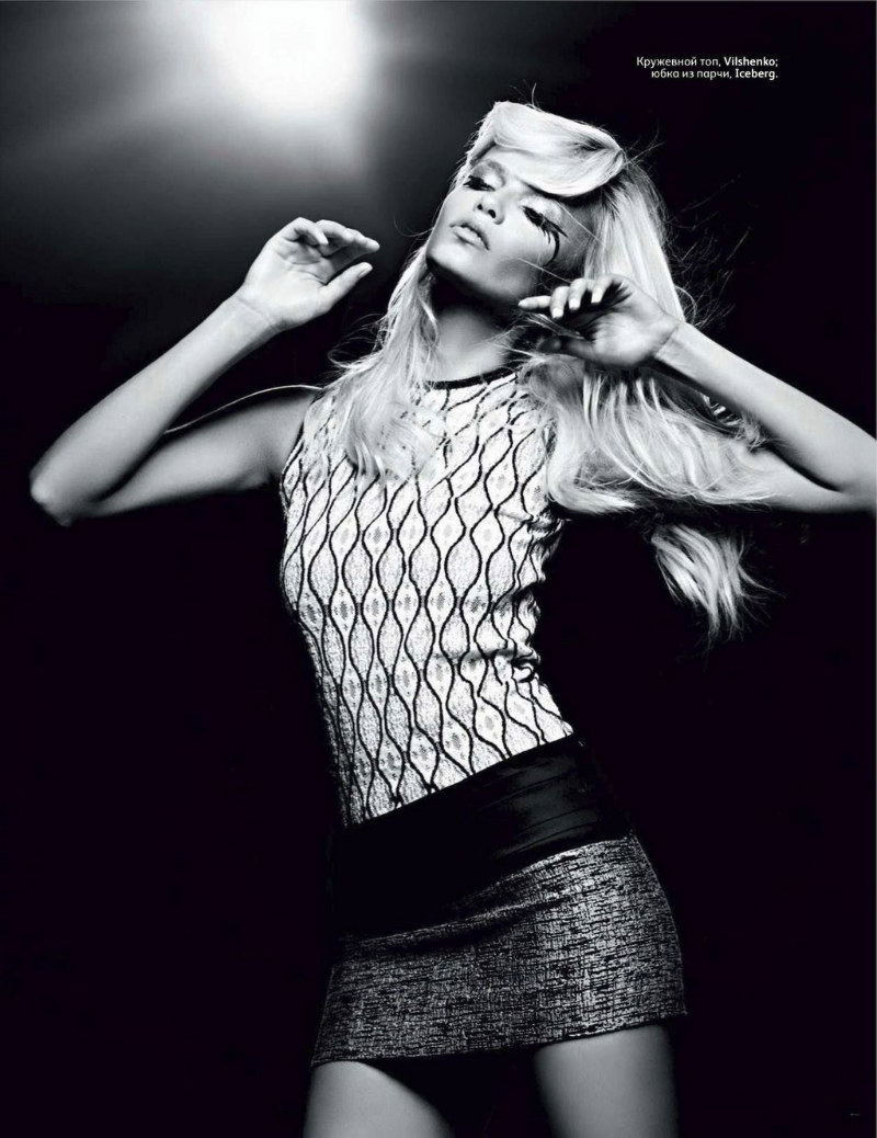 Natasha Poly by Hedi Slimane for <i>Vogue Russia</i> September 2011