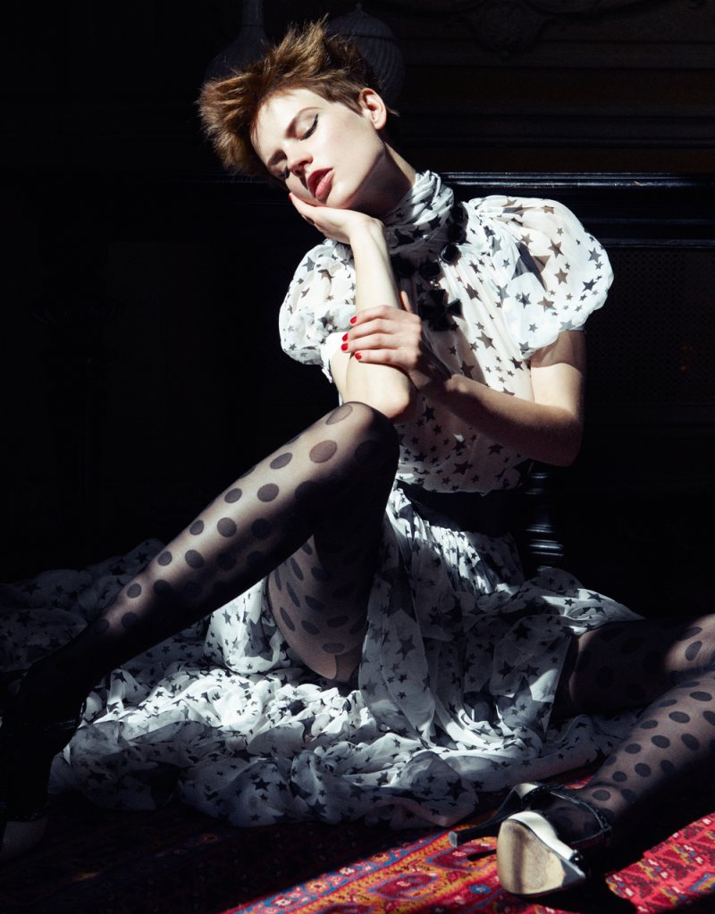 Saskia de Brauw by Mikael Jansson for <em>Vogue Japan</em> September 2011