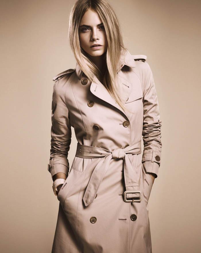 "9d596ba90d6e Burberry ""Nude"" Fall 2011 Collection  Cara Delevingne"