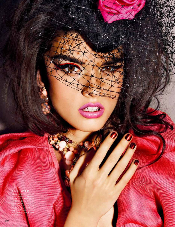 Crystal Renn by Giampaolo Sgura for <em>Vogue Japan</em> October 2011
