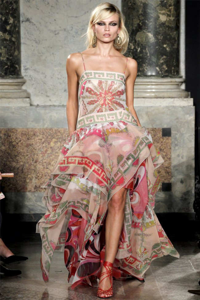 Emilio Pucci Spring 2012 | Milan Fashion Week