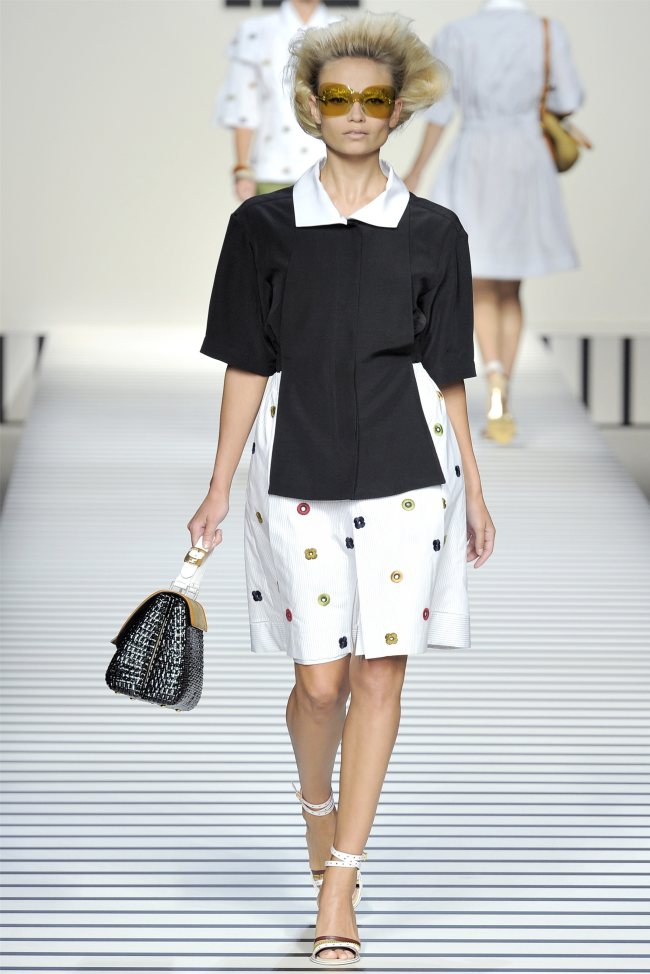 Fendi Spring 2012 | Milan Fashion Week