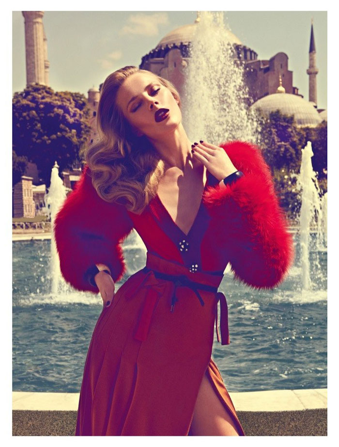 Ieva Laguna by Koray Birand for <em>Vogue Hellas</em> October 2011