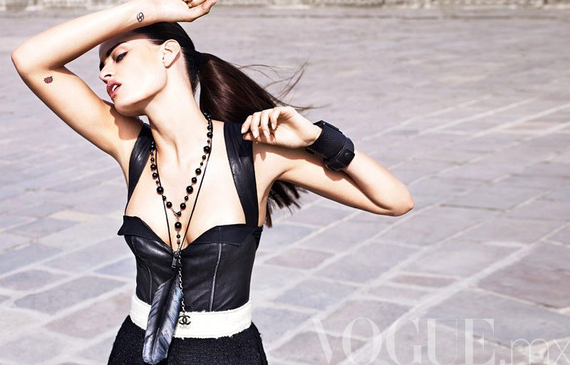 Isabeli Fontana by Marcin Tyszka for <i>Vogue Mexico</i> September 2011