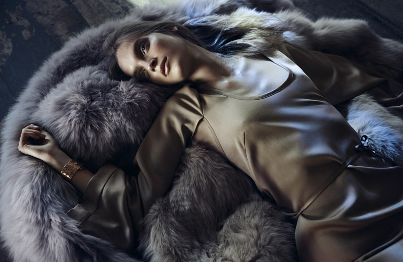 Mirte Maas by Lachlan Bailey for <em>Vogue Germany</em> September 2011