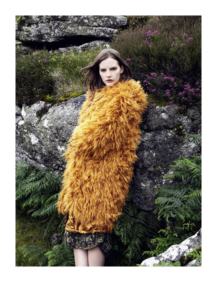 Sara Blomqvist by Ben Toms for <em>Harper&#8217;s Bazaar UK</em>