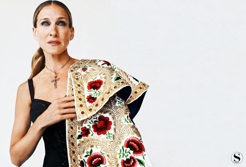 Sarah Jessica Parker by Gonzalo Machado for <em>S Moda</em>