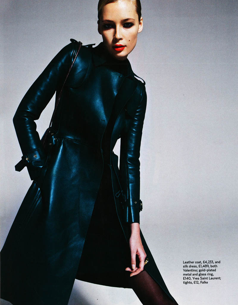 Tiiu Kuik by Frédéric Pinet for <em>Marie Claire UK</em>