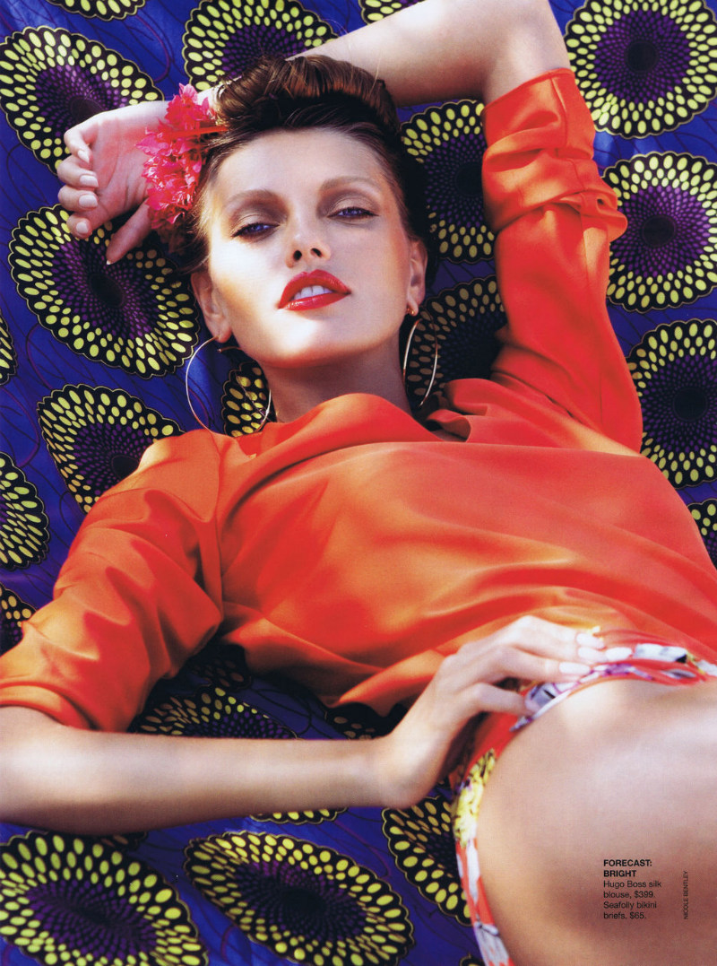Alina Baikova by Nicole Bentley for <i>Vogue Australia</i> November 2011
