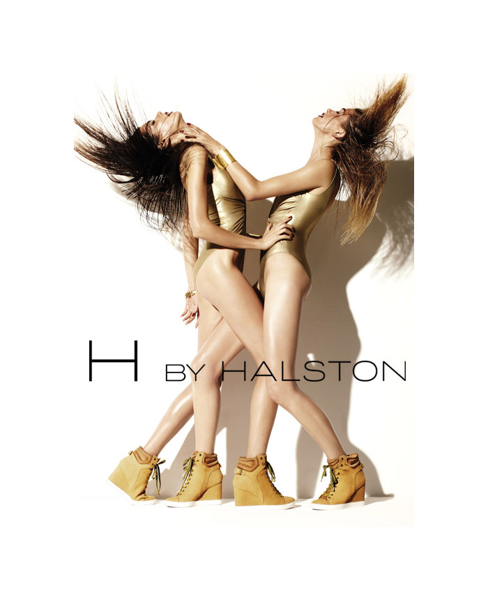 H by Halston Athletics 2011 Campaign | Sheila Marquez & Marlena Szoka by David Roemer