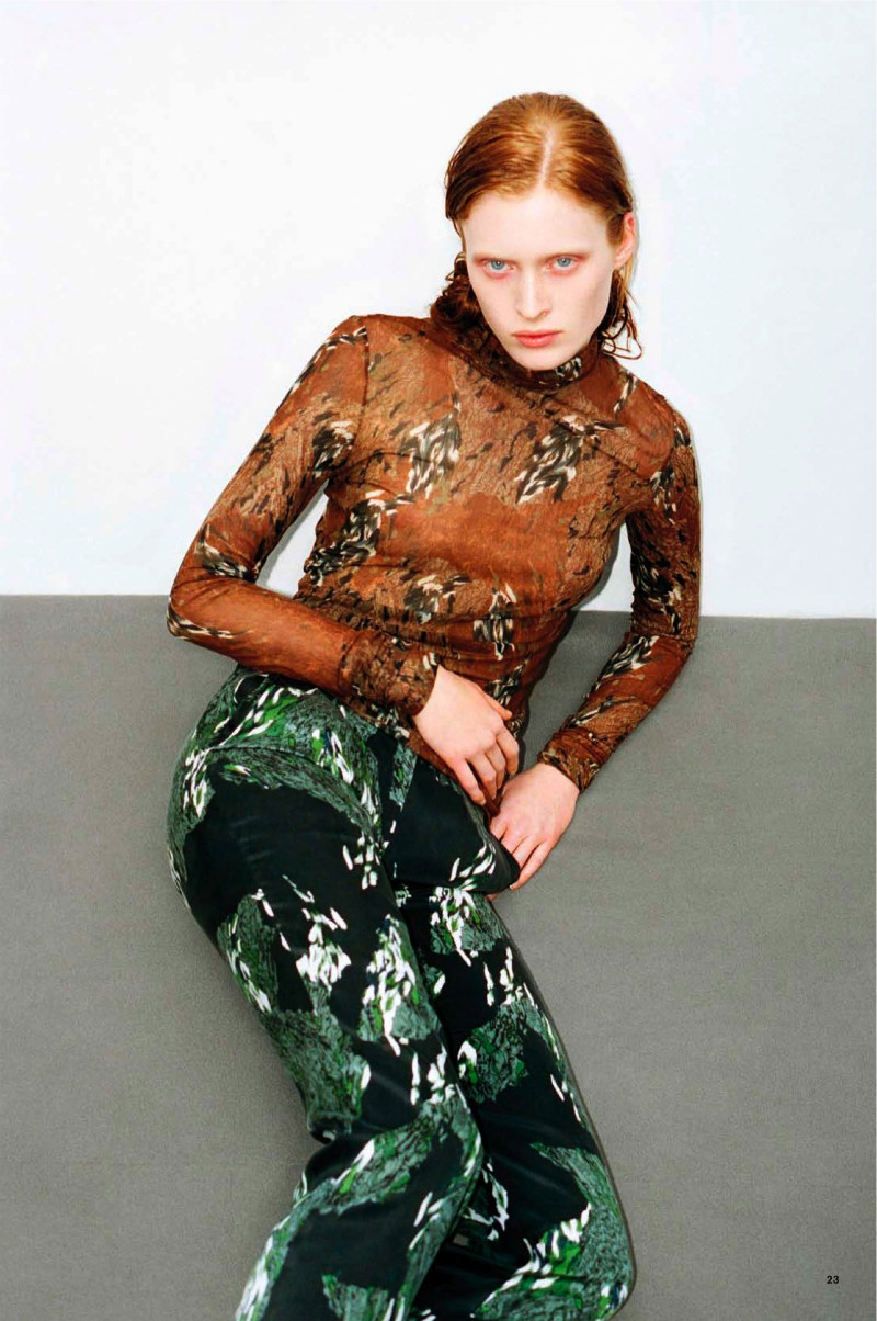 Ilva Heitmann by Thomas Lohr for <i>Tiger Magazine</i>