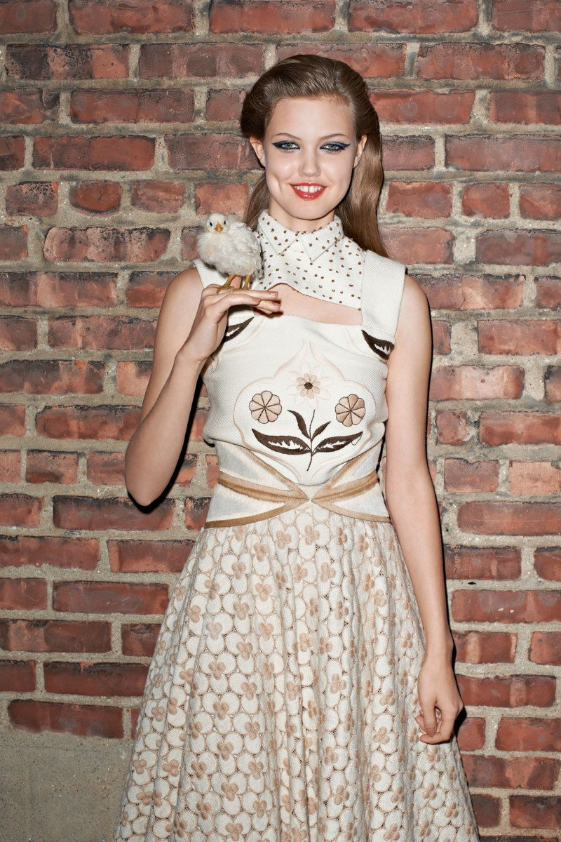 Lindsey Wixson by Terry Richardson for <i>Purple Fashion</i> F/W 2011